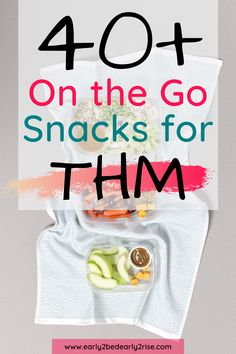 Looking for some THM snack ideas for when youre on the go? Check out this giant list of easy THM snack ideas that are grab and go, no refrigeration necessary! Lots of single serve ideas for busy… Thm Recipes, Healthy Eating Recipes, Healthy Sweets, Healthy Tips, Healthy Foods, Food For Less, Trim Healthy Mama Plan, One Meal A Day, Mama Recipe