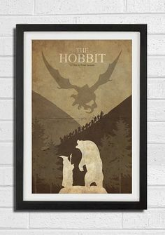 The Hobbit  The Lord of the Rings Poster 11X17 by Posterinspired, $18.00