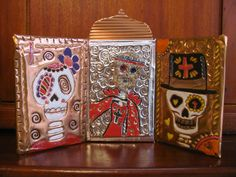 day of the dead metal art | Lost Persons Homeschool: ART PROJECT: Day of the Dead Metalwork