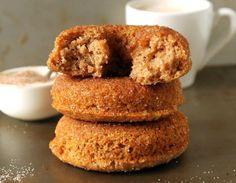 Whole Wheat Cinnamon Sugar Baked Doughnuts | Good Life Eats