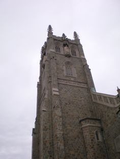 Church tower in Providence RI