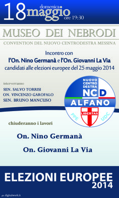 Domani sera a Messina!