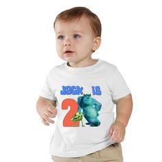 Monster Inc Birthday personalized shirt #birthdayshirt #disneybirthdayshirt by shirtsbynany on Etsy @nanycrafts