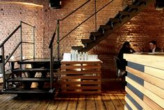 Kaper Design; Restaurant & Hospitality Design: Workshop Coffee Co.