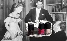 New Chanel nail polish inspired by old movies.