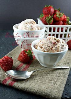 ... Ice Cream on Pinterest | Strawberry ice cream, Strawberry balsamic and