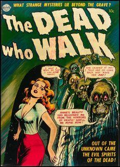 The Dead Who Walk comic cover
