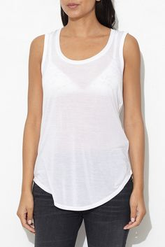 White Sweetheart Tank Top From ShopHeist.com!