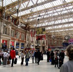 Waterloo Train Station - London