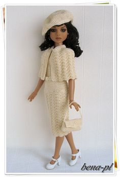 "Bena PL Clothes for Ellowyne Wilde Amber Lizette Prudence 16"" OOAK Outfit 