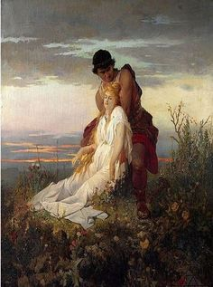 Václav Brožík - The death of St.Iria (1873-6) - Part I #RomanticRealism #painting #art #Czechia