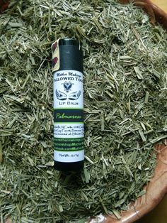 Clearance Palmarosa Tallowed Touch Lip Balm by MotherMakings Palmarosa Essential Oil, Essential Oils, Beef Tallow, Organic Castor Oil, Grass Fed Beef, Fragrance Oil, Lip Balm, Herbalism, Moisturizer