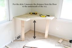 DIY dressing table For daughter's room if I don't renovate closet.
