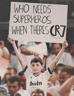 Who needs superheroes when theres CR7?