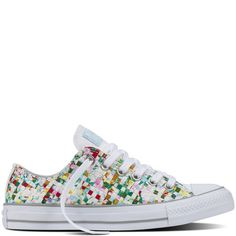 Converse - Chuck Taylor All Star Printed Woven - White - Low Top