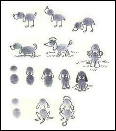 Thumbprint Dogs