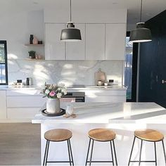Simple Style Co: Buy Rugs, Prints & Homewares Online Australia Kitchen Reno, Home Decor Kitchen, Interior Design Kitchen, New Kitchen, Kitchen Ideas, Kitchen Designs, Scandinavian Kitchen, Scandinavian Interior, Light In