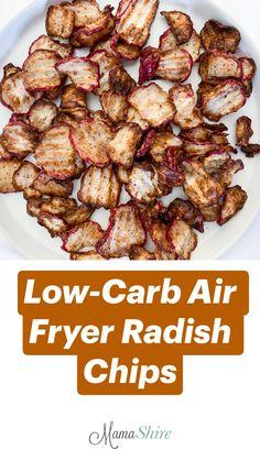 Air Fryer Recipes Low Carb, Air Fryer Dinner Recipes, Healthy Low Carb Recipes, Low Carb Dinner Recipes, Healthy Food Choices, Healthy Cooking, Vegetarian Recipes, Keto Crockpot Recipes, Vegetable Recipes