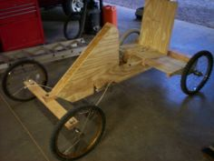 how to build a pedal go kart out of wood