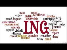 Uso do ING nos verbos em inglês