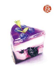 Cream cheese de frutas roxas. Vire os olhinhos quando comer... (Deus, tenha piedade de mim...) rs DC
