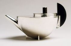 Bauhaus - Marianne Brandt - Tea Infuser and Strainer, ca. 1924