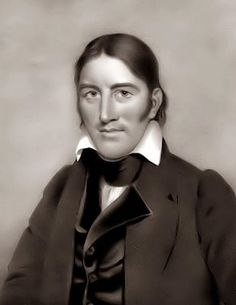 """Davy Crockett - the famed Tennessee Congressman who fought and died for Texas independence at the Alamo, one of Texas' greatest heros. When he left politics, he told his constituents, """"You may all go to hell, and I will go to Texas."""