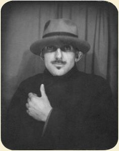 Ansel Adams, photo booth hipster.