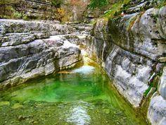 Τα καθαρότερα νερά της Ελλάδας: Βουτιά στις παραδεισένιες «παραλίες» των βουνών της Ηπείρου! Greece, Waterfall, Outdoor, Google, Photos, Greece Country, Outdoors, Outdoor Living, Garden