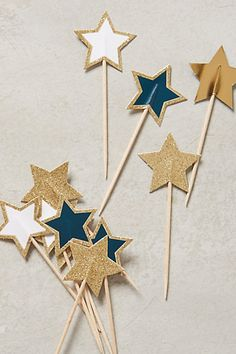 Starlight Cake Toppers #anthrofave #anthropologie