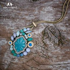 Two if by sea? This #Seascape Long Pendant is an easy upgrade for your wardrobe at only $68.  Throw it over your sweater now for a bright pop of color, and then wear it with your swimsuit cover-up come warmer temps. More looks at www.stylewithjennifer.com
