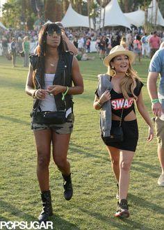 Celebrities at Coachella 2013