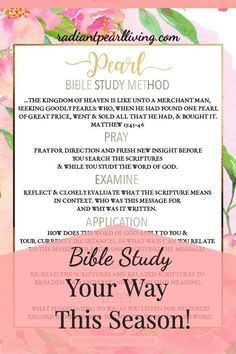 Ready to identify intentional ways you can study the Bible with prayer points you can bring before the Lord purposefully in prayer