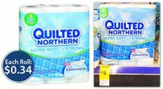 Quilted Northern Bath Tissue, $0.34 per Big Roll at Walgreens!