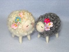 Needle Felted Lamb Class in PDF files By Barby by barby303 on Etsy, $25.00