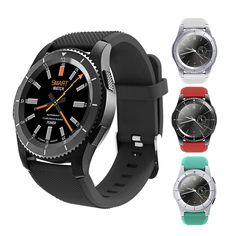 No.1 G8 Smart Watch Phone MTK2502 Bluetooth 4.0 SIM Card Smartwatch Call Message Reminder Heart Rate Monitor For Android IOS //Price: $59.99//     #gadgets