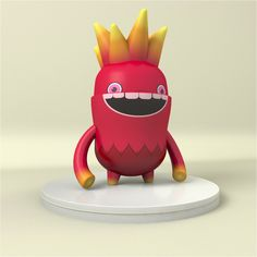 3D Monster Cartoon Character #monster #character