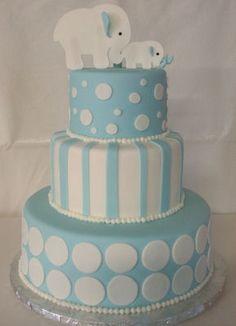 Blue Baby Cake