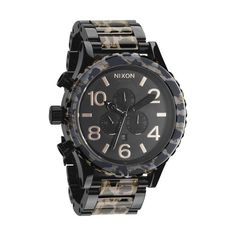 Nixon 51-30 Chrono - All Black/Leopard