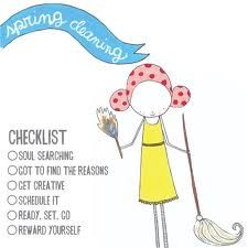 make sure to complete your checklist! :)