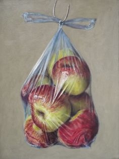 Windfall Apples in a Plastic Bag