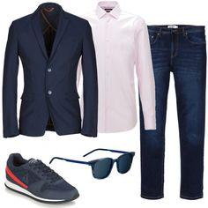 Giacca e jeans  outfit uomo Casual per tutti i giorni  5eebec84b1d
