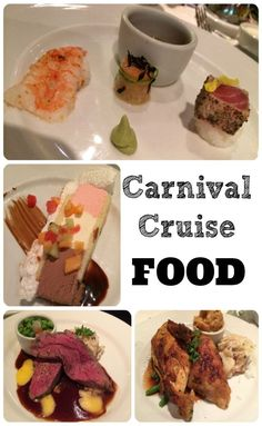 Thinking about planning a cruise and want to know what cruise food is like? You'll want to check out this review of Carnival Cruise Food aboard the Carnival Magic cruise Ship.