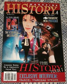 Michael Jackson HIStory Magazine # 4 Posters Rare & OOP EX HTF 1996 Vinyl - http://www.michael-jackson-memorabilia.com/?p=6361
