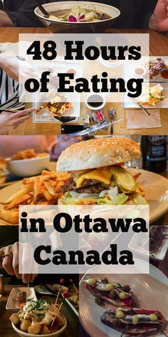 Visiting Ottawa restaurants in the winter might seem frigidly foolish, but it's delicious! Small lines make hole-in-the-walls even cozier. Canadian Cuisine, Canadian Food, Ottawa Canada, Ottawa Ontario, Montreal Canada, Food Places, Best Places To Eat, Alberta Canada, Ottawa Parliament