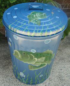 bass trash can