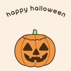 Pusheen the cat : Halloween gif Happy Halloween Gif, Halloween Tumblr, Fröhliches Halloween, Halloween Contacts, Holidays Halloween, Halloween Pumpkins, Halloween Greetings, Pusheen Gif, Pusheen Cute