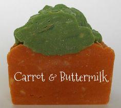 Carrot & Buttermilk HP soap