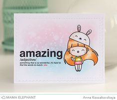 mama elephant | design blog: STAMP HIGHLIGHT : WORDS DEFINED