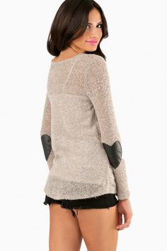 Heart and Patch Sweater $48 http://www.tobi.com/product/52701-tobi-heart-and-patch-sweater?color_id=71639&utm_medium=email&utm_source=new&utm_campaign=2013-09-19